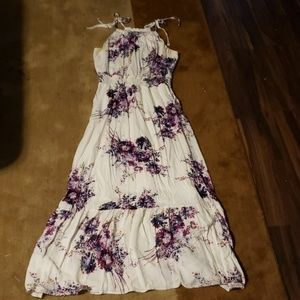Maurices Floral Maxi Length Dress